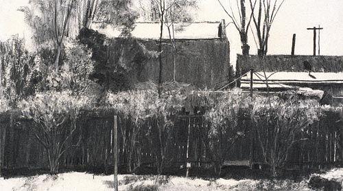 Rachel-Ellis-Side-Fence-2002-charcoal