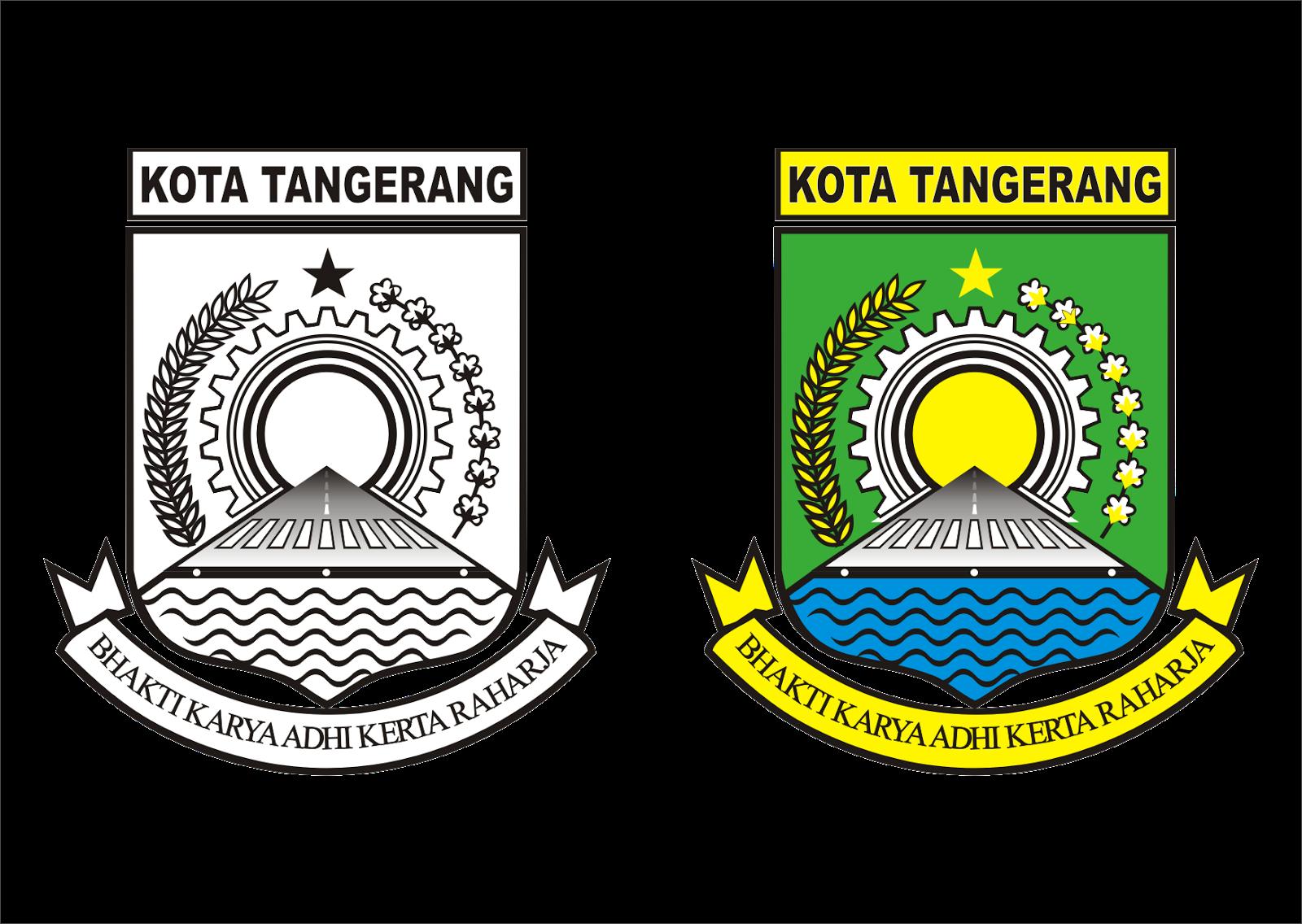 Logo Kota Tangerang Vector Desain Logo Kota Tangerang Desain