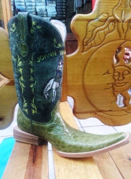 43448b12fff LEONBOOTS COCODRILO VERDE | fancy foot work | Boots, Shoes, Cowboy boots
