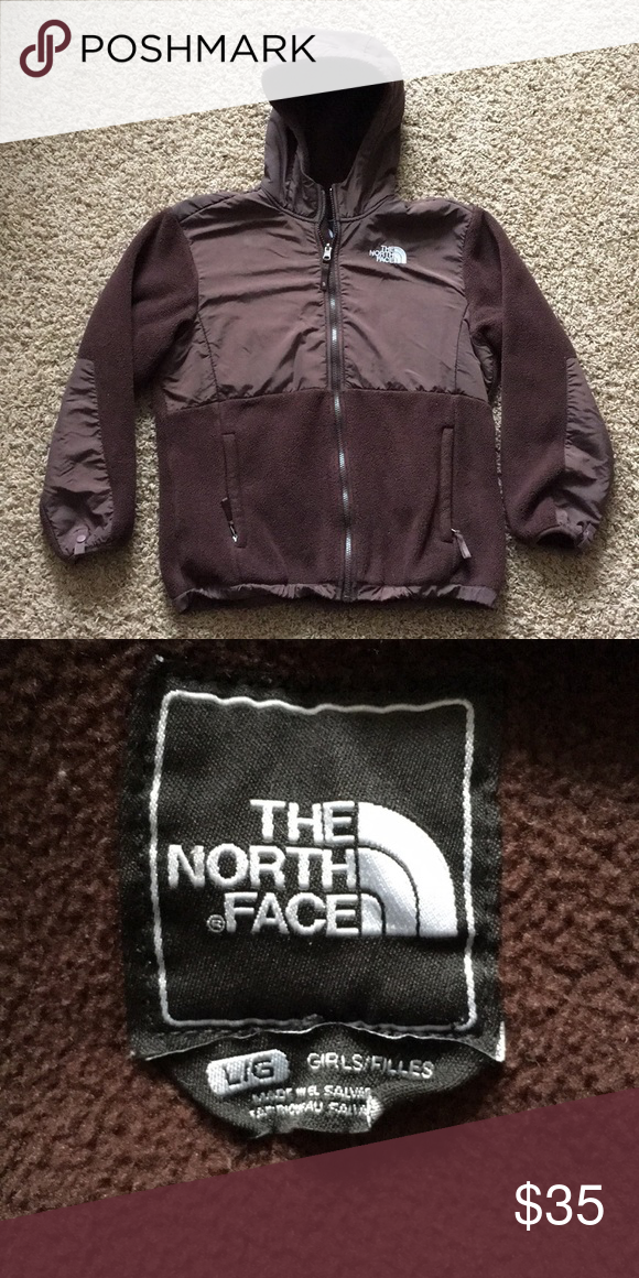 c38f9fc40 The North Face fleece jacket with hood Denali polartec north face ...