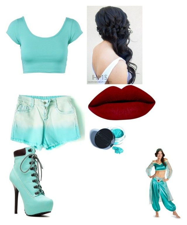 """""""Jasmine"""" by sassybaby1111 on Polyvore featuring Manic Panic, women's clothing, women, female, woman, misses and juniors"""