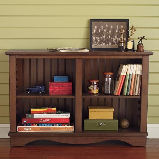 Stupendous Kids Bookcases Kids Honey Cottage Style Low Beadboard Home Interior And Landscaping Palasignezvosmurscom