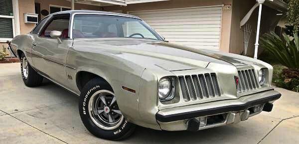 73 ('74 nose) Pontiac Grand Am | SF Craigslist $6,999