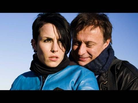 THE GIRL WITH THE DRAGON TATTOO with NOOMI RAPACE and MICHAEL NYQVIST