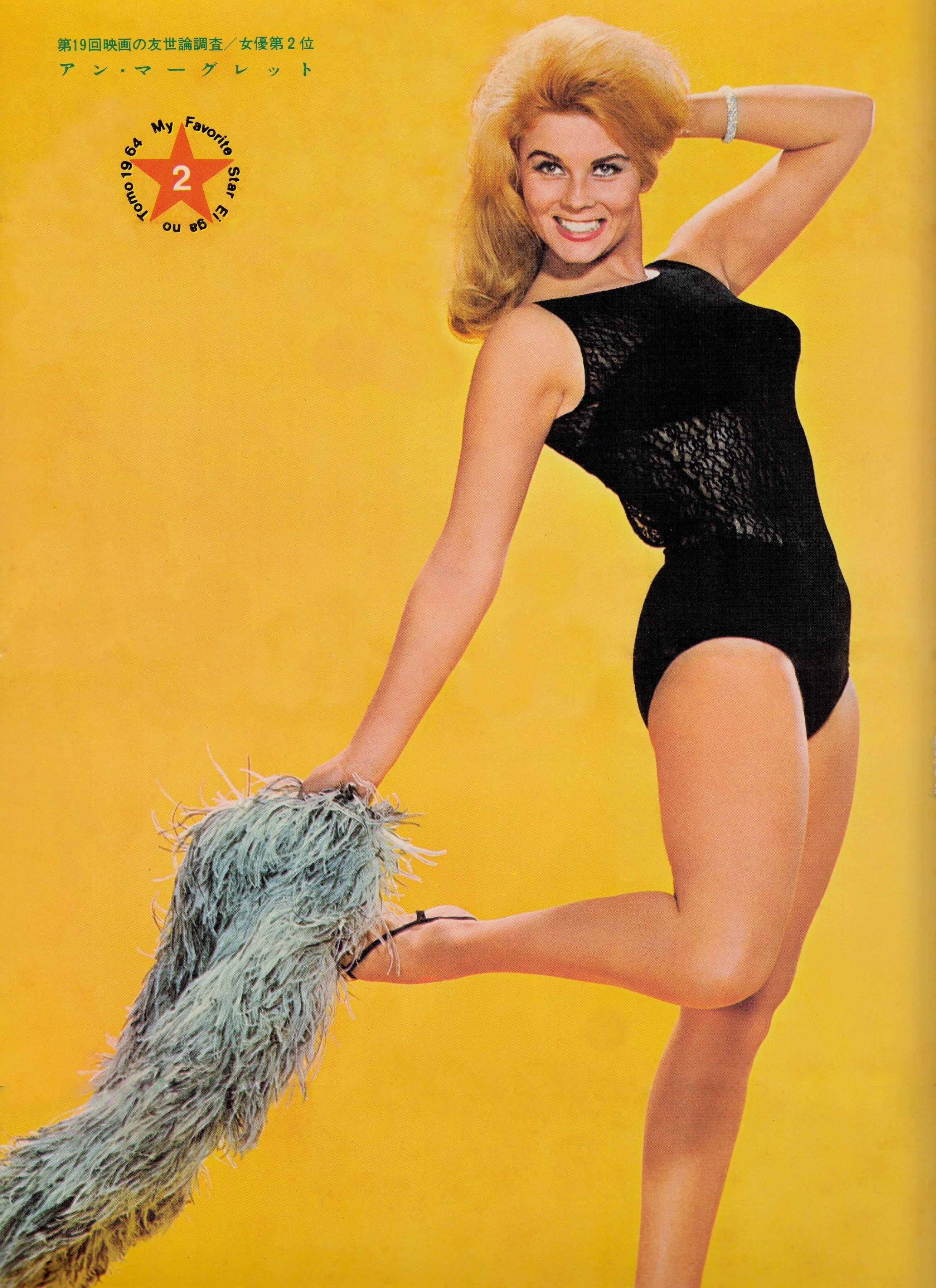 Beautiful ann margret vintage poster pin up from vintage mag minkshmink