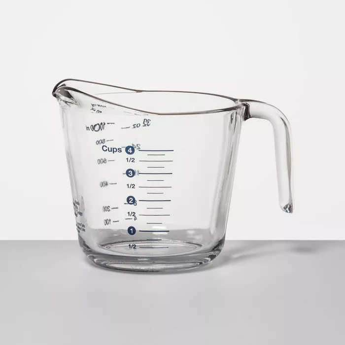 4 Cup Glass Measuring Cup Made By Design Glass Measuring Cup Measuring Cups Made By Design