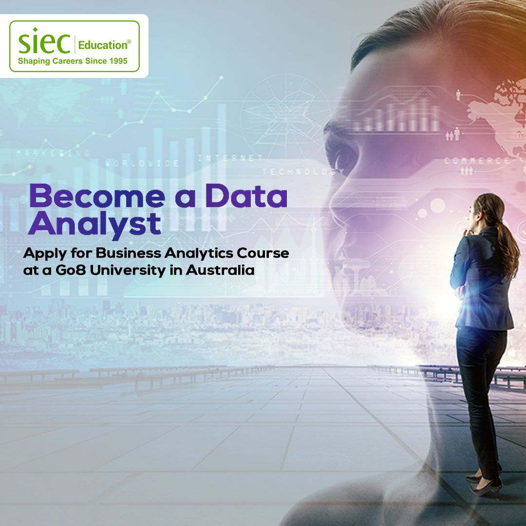 a Data Analyst. Apply for Business Analytics course