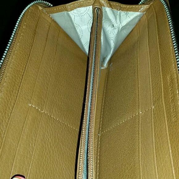 Michael Kors Brown Wallet Brown Wallet , not much wear and tear! Michael Kors Bags Wallets