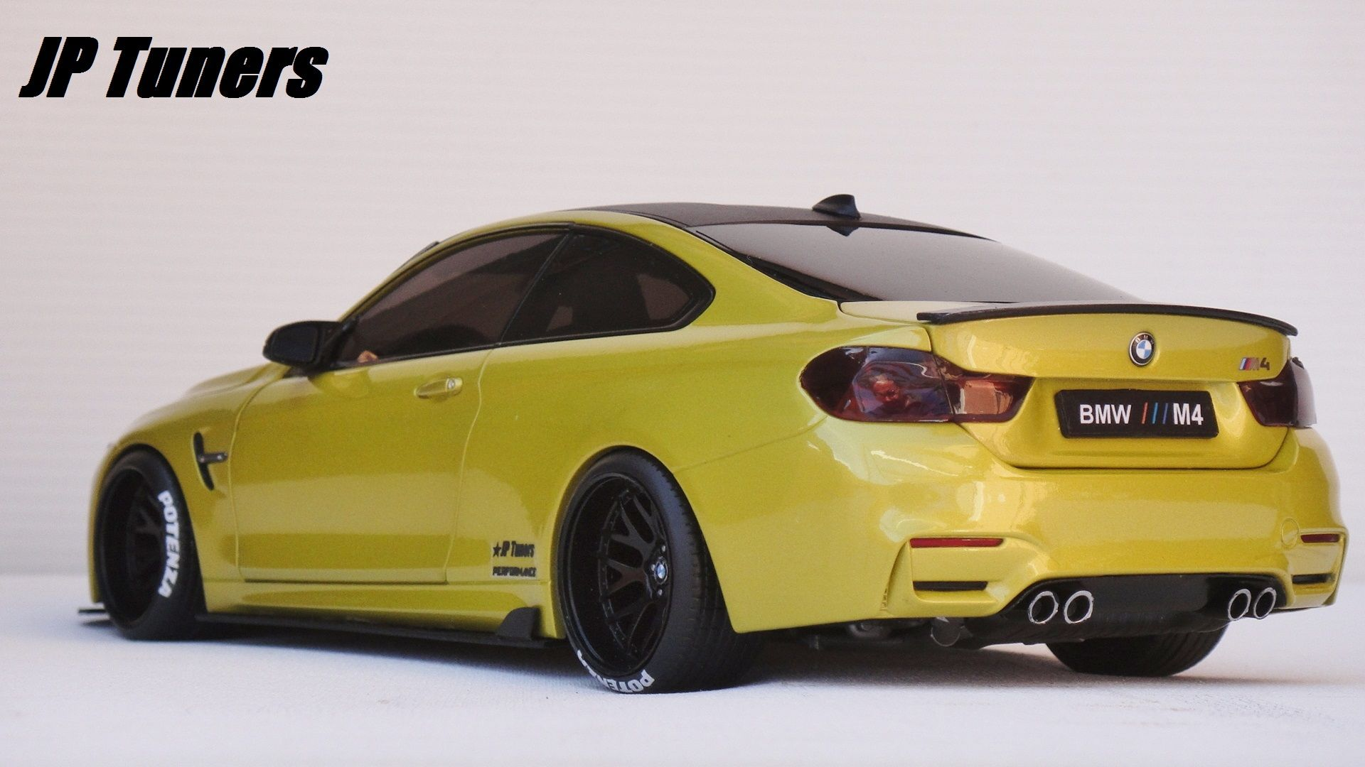 1 18 bmw m4 tuning jp tuners bmw cars diecast model cars a bmw m4. Black Bedroom Furniture Sets. Home Design Ideas