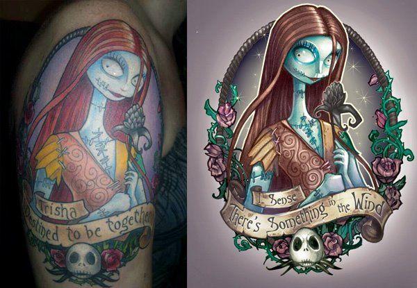 c966d03addb07 Sally Tattoo *WANTED*   Things I love   Disney tattoos, Art, Drawings