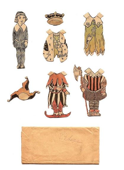 Paper Dolls from 1920`s. Påklædningsdukker fra 1920`erne. - Karen Bisgaard Petersen - Picasa Webalbum