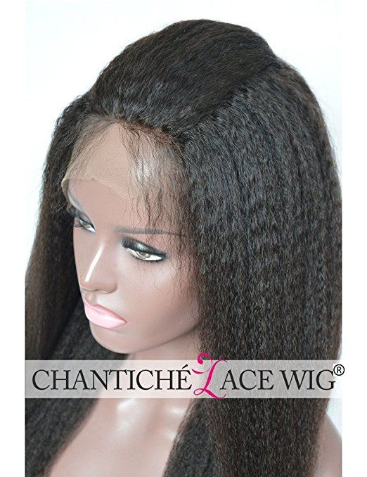 Amazon.com   Chantiche® Natural Looking Italian Yaki Glueless Full Lace Wigs  with Baby Hair for Black Women Best Brazilian Remy Human Hair Wig Light  Brown ... 0c97cdf8f1