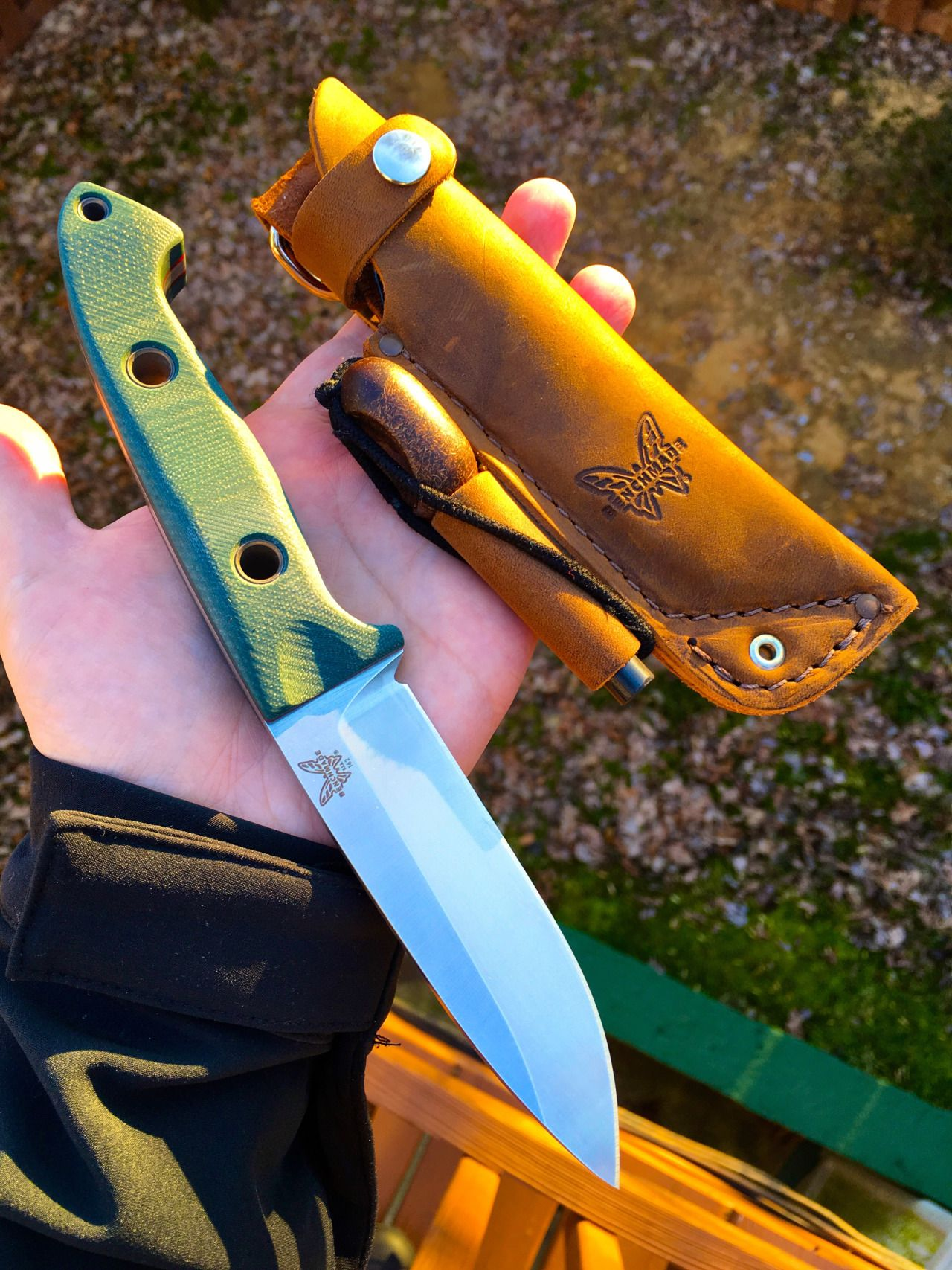benchmade bushcrafter bushcraft pinterest knives bushcraft