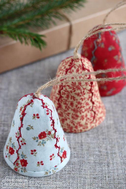 Колокольчики / Bells - Вечерние посиделки Christmas Pinterest