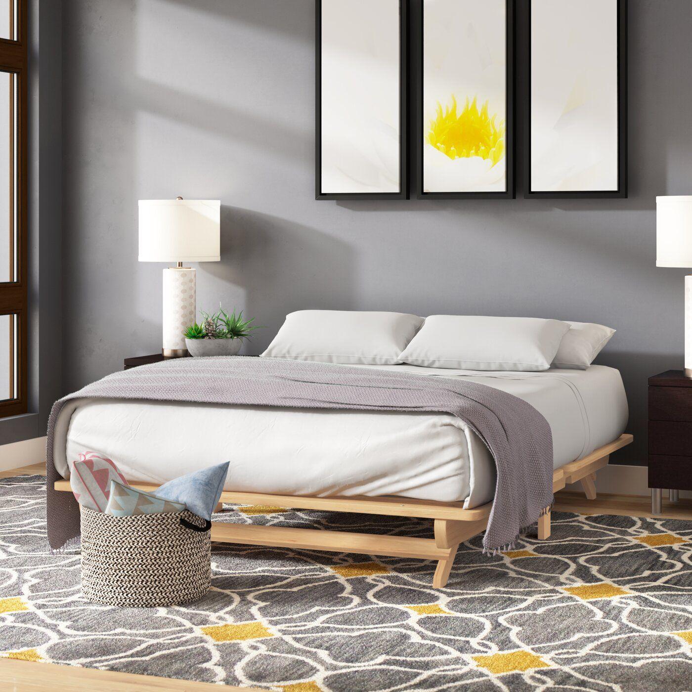 Evie Platform Bed Platform Bed Bed Frame Bed Sizes