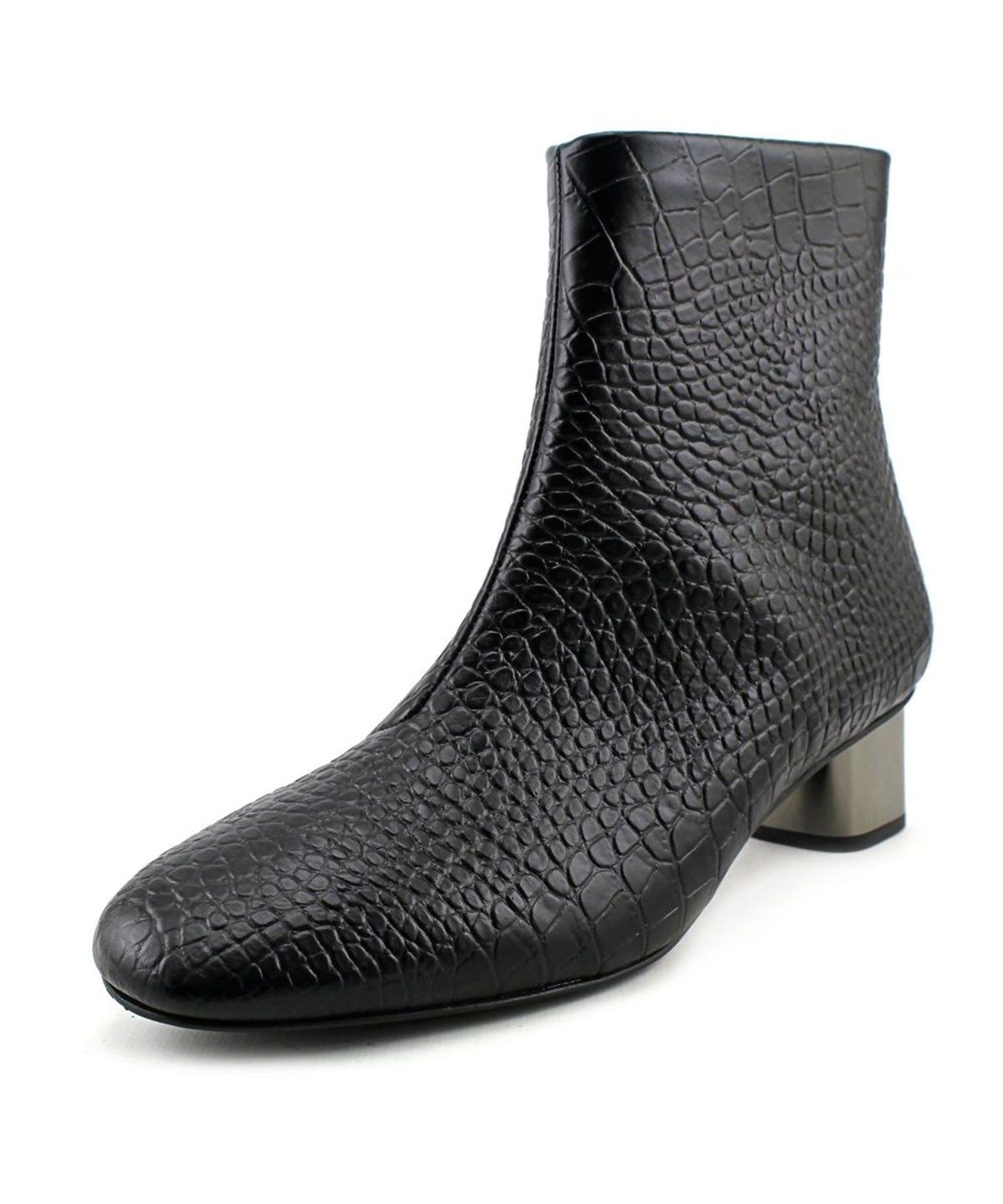0d12fd46fe37 ROBERT CLERGERIE Robert Clergerie Paola Women Round Toe Leather Ankle Boot .   robertclergerie