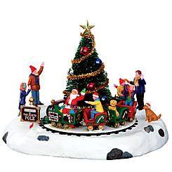 Christmas Village Accessories.Lemax Village Collection Christmas Village Accessory Santa S