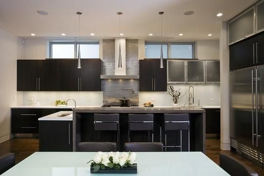 Modern Kitchens Cabinets apartment therapy kitchen modern kitchen with espresso ebony