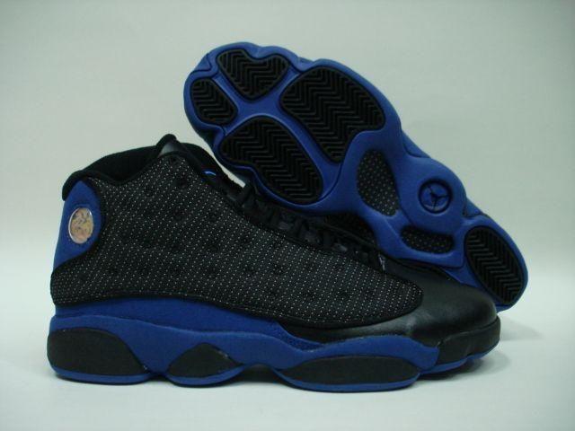 sports shoes 11efe dd7eb Jordan Shoes Air Jordan 13 Black Blue  Air Jordan 13 104  - Cool and