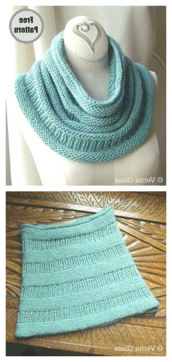Simple Cowl Free Knitting Pattern #knitting #crochet # ...