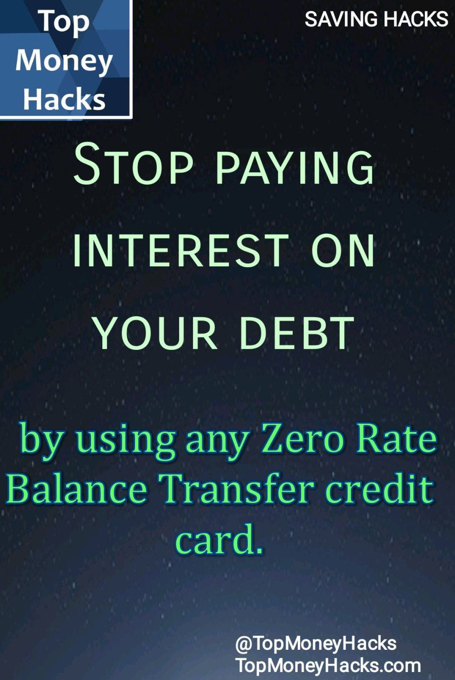 Stop Paying Interest On Debt With Zero Rate Balance Transfer Credit Cards