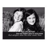 MY SISTER Postcard  MY SISTER Postcard  $4.25  by jamartphotoart   More Designs http://bit.ly/2g4mwV2 #zazzle