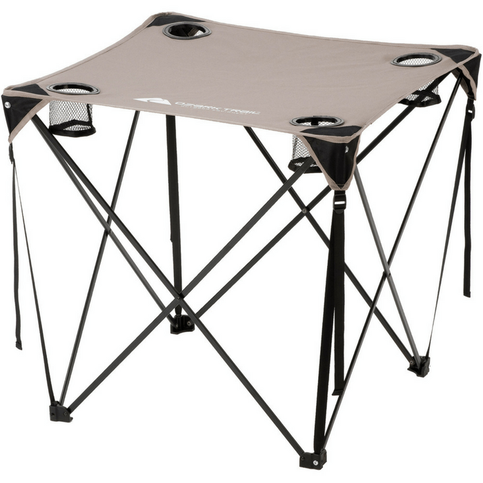 Minimalist Camping Folding Quad Table Durable Portable Lightweight Picnic Hiking Beach New HD - Unique outdoor camping table Photos