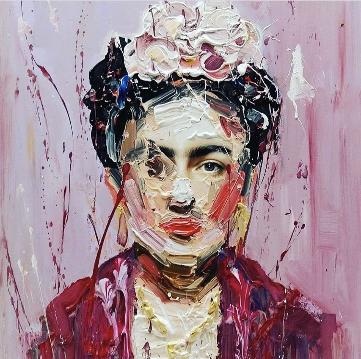 Frida Kahlo nel 2020 Arte astratta moderna, Dipinti