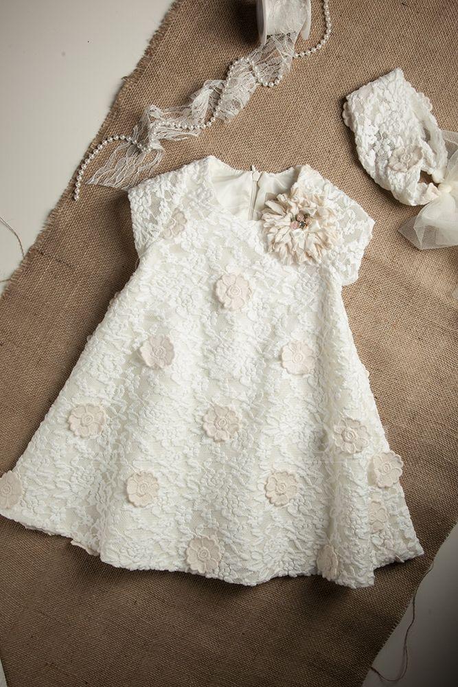 06f48e192c1 Βαπτιστικά ρούχα για κορίτσι της Νeonato | Baptism clothes ...