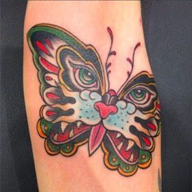 Photo of Elbow Cat Butterfly Tattoos Design, Tattoos by Cat Butterfly Combo, Comb … –  …