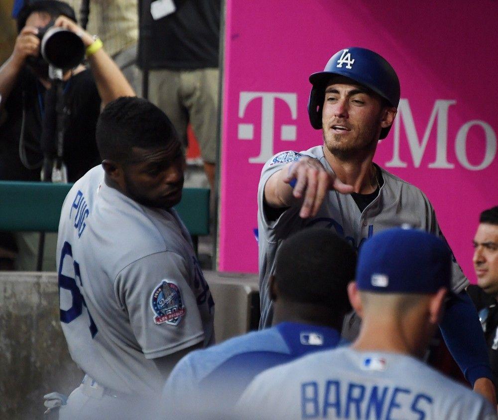2018/7/6 Dodgers girl, Baseball boys, Cody love
