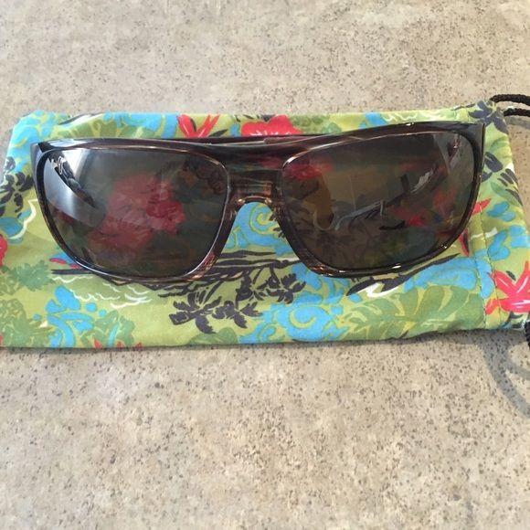 449598a340f Maui Jim Island Time Polarized Wrap Sunglasses