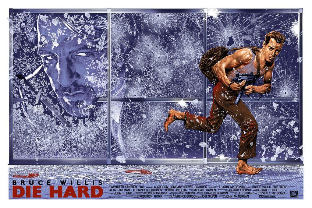 Yippee Ki Yay Check Out This Die Hard Fan Art Best Movie Posters Movie Poster Art Die Hard
