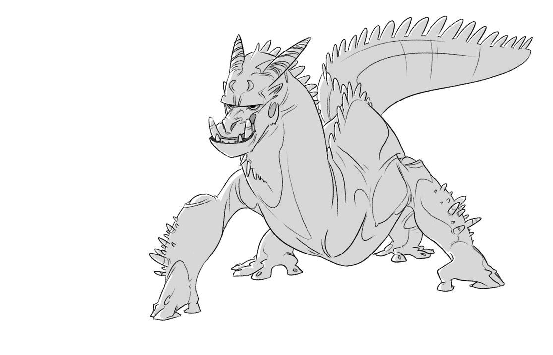 beefy reptile by okavango