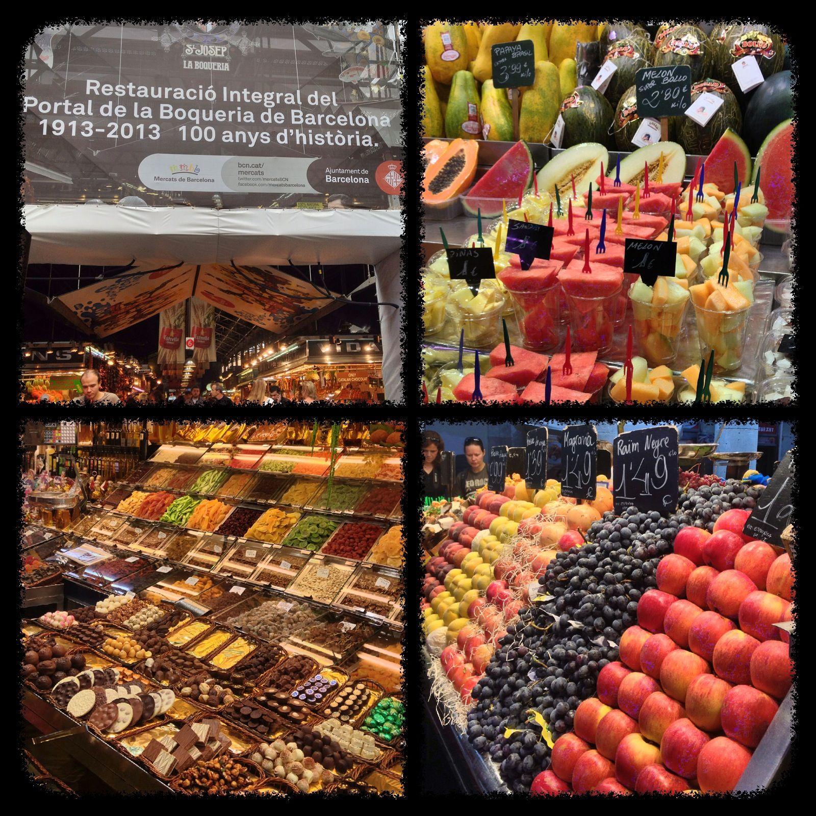 El Mercado De La Boqueria!! - Barcelona