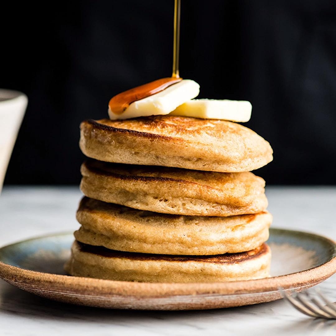 Photo of Healthy Greek Yogurt Pancakes Recipe