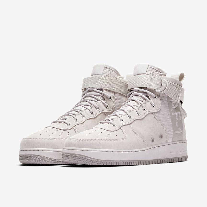 nike sf air force 1 metà delle scarpe maschili guardaroba vuole pinterest