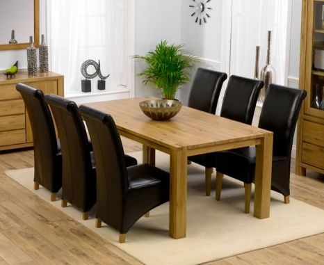 35++ Natural oak dining table and chairs Trend
