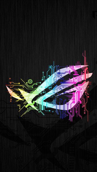 Rog Logo Colorful Circuit 4k 3840x2160 1920x1080 2160x3840 1080x1920 Wallpaper Android Wallpaper Iphone Wallpaper Iphone 7 Wallpapers