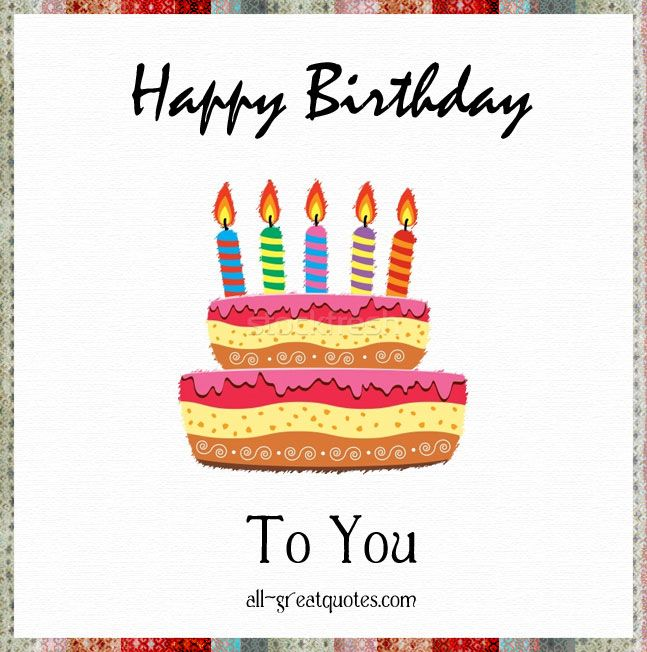 Happy Birthday Cards For Facebook Free Happy Birthday Greeting Cards Happy Birthday Greeting Card Free Happy Birthday Cards Birthday Cards