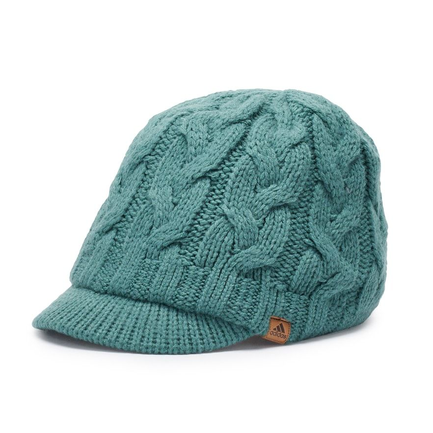 86146909 Women's adidas Crystal Cable Knit Brimmer Beanie in 2019 | Products ...