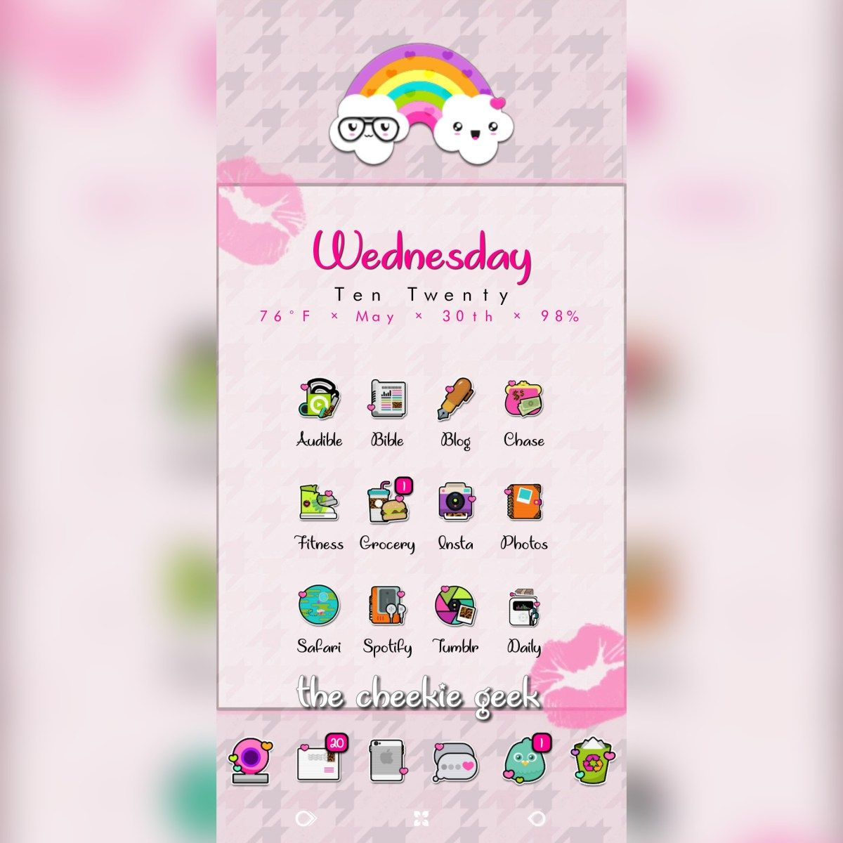 Hello everyone! Today I'm Styling Fresh Icons on my Samsung