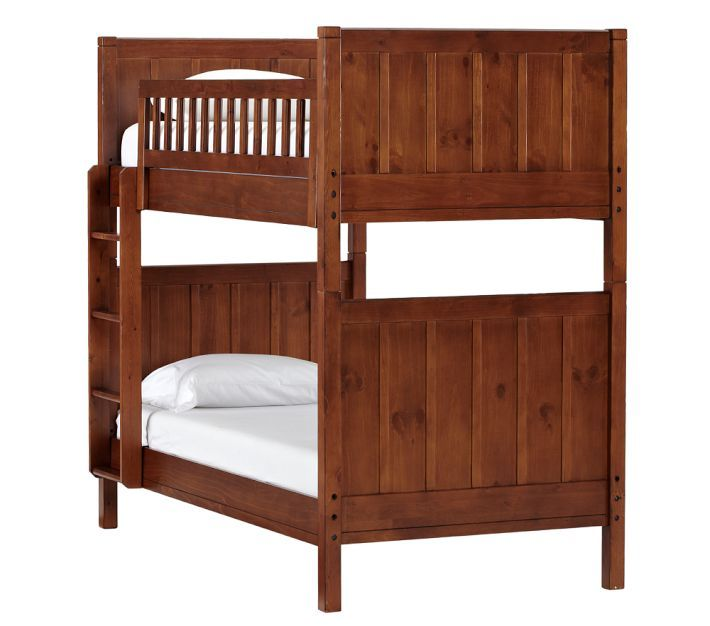Camp Twin Over Twin Bunk Bed Bunk Beds Cool Bunk Beds Bunk Beds With Stairs