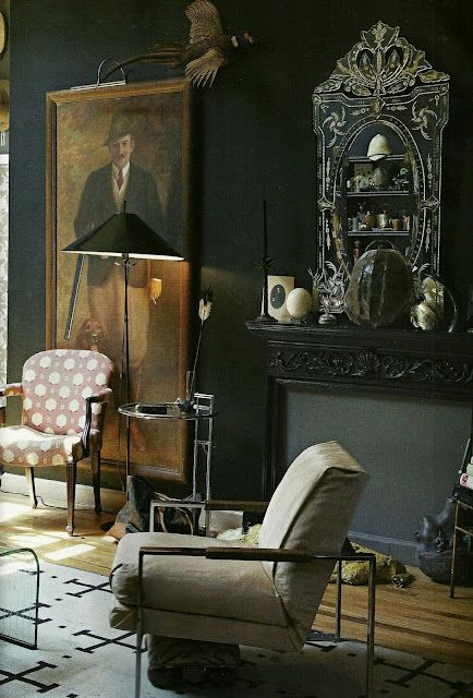 eclectic nyc apartment of sisters hollister and porter hovey with chalkboard wall