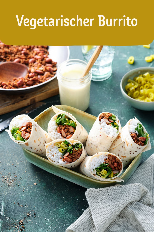 Vegetarischer Burrito