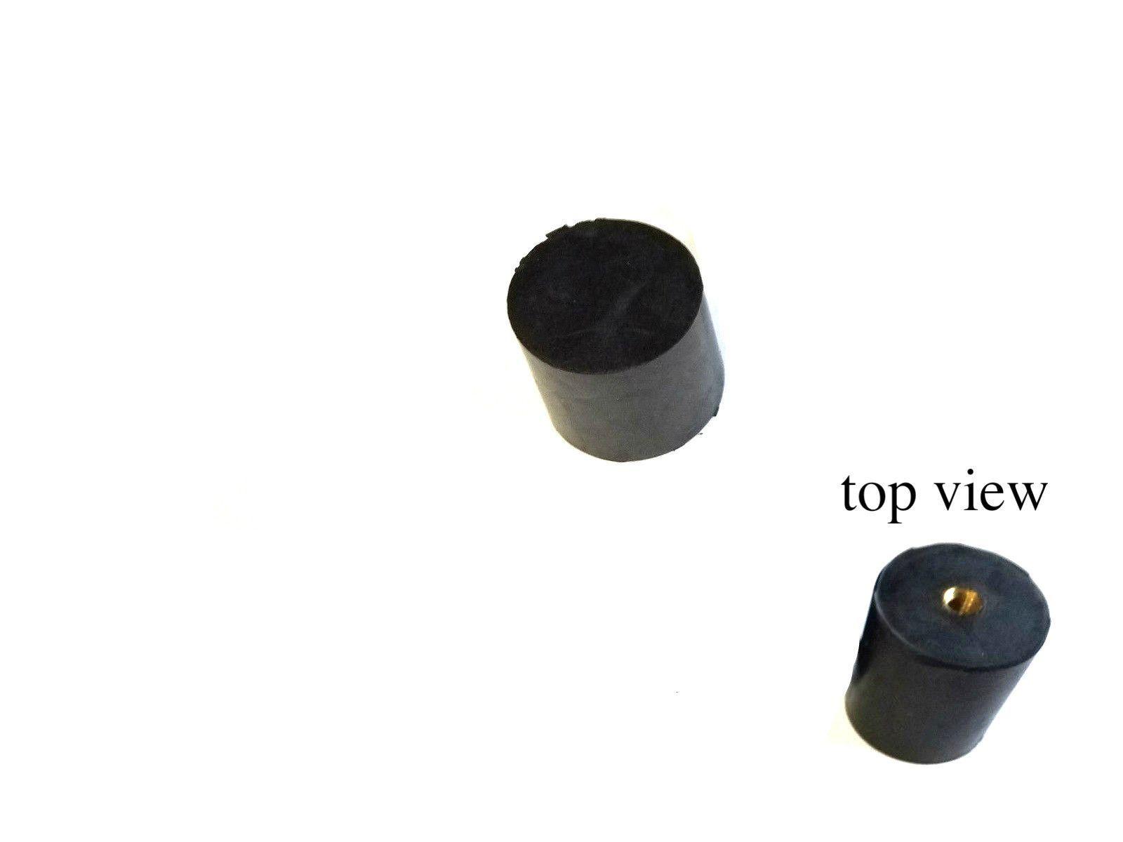 1 3 8 Dia X 1 5 16 Ht Rubber Vibration Isolator Mount Feet 1 4 20 Screw Hole