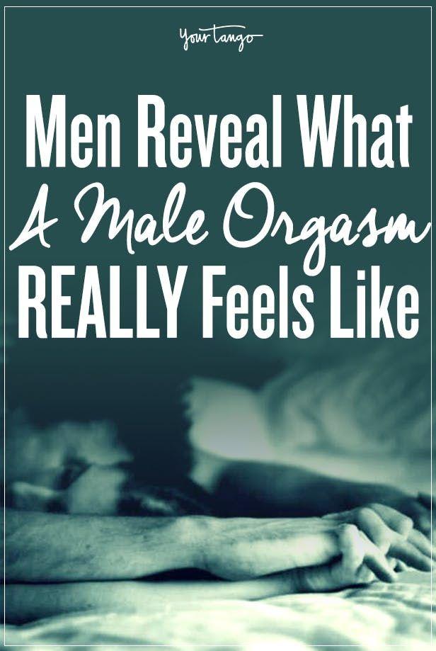 What male orgasm feels