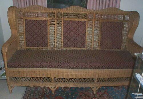 Titanic Wicker Sofa From Film Titanic 1997 Titanic Ii Pinterest