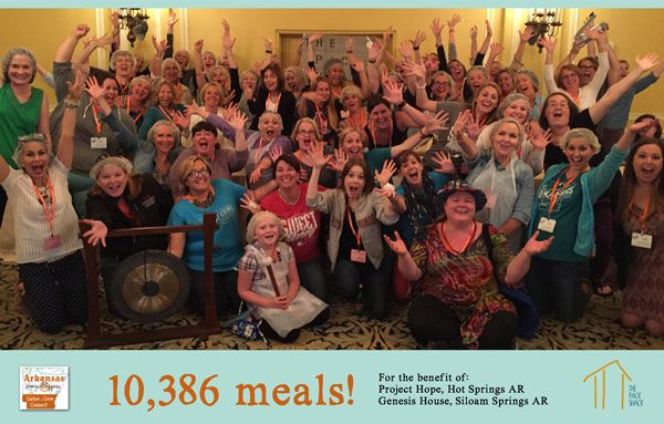 You can provide 50 meals for the hungry by making 1 video. http://www.sarahshotts.com/partnering-with-the-pack-shack-to-fight-hunger/