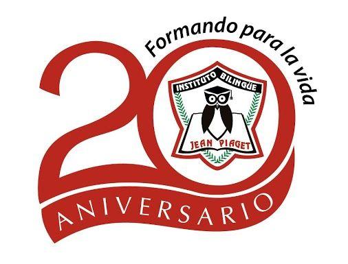 logotipo 20 aniversario instituto bilingüe jean piaget logo